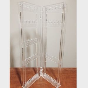 Other - Clear Earring/Jewelry Stand